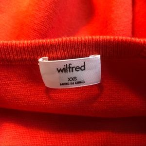 Wilfred Tops - Cropped Tank (orange)